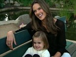 Model duo: Mom Victoria's Secret Angel Alessandra Ambrosi said wouldn't mind if four-year-old Anja wanted to become a Victoria's Secret model