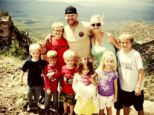 Growing: Jenny McClendon, who starred in Raising Sextuplets with her ex-husband and their six children, is now expecting another child with her new husband, Levi McClendon, who already has two sons