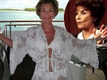 So THAT'S what was under those robes! Judge Judy wows in white halterneck bikini as she celebrates her 70th birthday