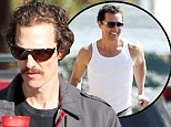 'I weigh 143lbs... and can't wait to eat a burger': Matthew McConaughey on losing almost a quarter of his body weight