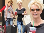 Opps she did it again: Britney Spears wears the same less than flattering jeans in a week