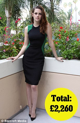 Photocall for Breaking Dawn Part 2 in LA on 2nd Nov: Stella McCartney dress £1,865, Christian Louboutin shoes £395