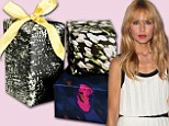 Rachel Zoe has the holidays all wrapped up as she launches chic new gift paper collection for charity