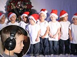 Octo-harmonies! Octomom Nadya Suleman's children release a Christmas song under the name 'Roctuplets'