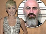 Relief: Miley Cyrus has been a three-year civil restraining order against a man convicted of trespassing at her LA home