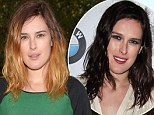 New look: Rumer Willis unveiled her ombre locks while heading out for lunch in Los Angeles on Wednesday