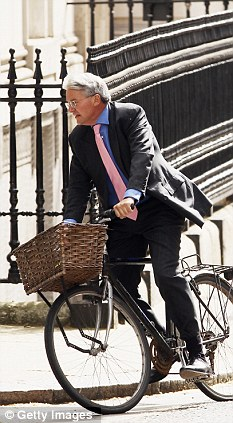Outburst: Chief Whip Andrew Mitchell showed his true colours when he lost his temper with a police officer