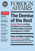 Foreign Affairs new issue