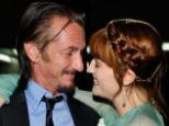 'Flirting': Singer Florence Welch has caught actor Sean Penn's eye