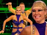 'The dance of the series!' Denise Van Outen picks up the highest score of the series with 39 points after dancing the Charleston as Cleopatra at Wembley on live Strictly show
