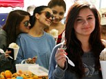 Ariel Winter puts guardianship battle aside to enjoy a happy day out with her sister ahead of hearing