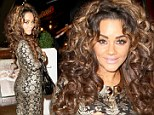 Christmas probably came early for Chelsee Healey when she tried on this dress.
