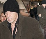 Al Pacino arriving at his Broadway play in New York City
