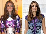 To Liz Hurley, an actress, model and cricket WAG of advancing years, the 30-year-old Duchess of Cambridge may not seem the most obvious muse