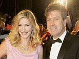 More than friends: Lisa Faulkner and chef John Torode have been seen at a number of public events but have now reportedly gone public with their romance