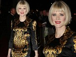 Edith Bowman arrives at the BAFTA Scotland Awards at the Radisson Blu Hotel in Glasgow