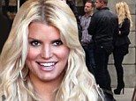 'That's a wrap!' Jessica Simpson films her second Weight Watchers commercial... and this time shows off all of her 60 pound weight loss