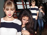 Is Bieber about to hear that he and Selena are Never Ever Getting Back Together? Gomez enjoys girls night with Taylor Swift