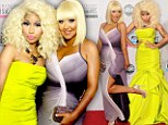 Divas in dis-dress: Nicki Minaj and Christina Aguilera top list for worst outfits at American Music Awards