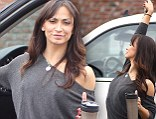 Karina Smirnoff looks fantastic as she faces a hectic day at DWTS All Stars Semi Finals pehearsals