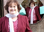She dreamed a dream of Tiffany's! Susan Boyle goes on a $19,000 shopping spree in New York