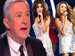 'Nadine could have been big star too, if she married a footballer': Louis Walsh backs 'best singer' in Girls Aloud... and takes a catty swipe at Cheryl