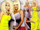 Divas in dis-dress: Nicki Minaj and Christina Aguilera top list for worst outfits at American Music Awards