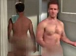 Look away now, Creek fans... Dawson's naked! James Van Der Beek strips for latest show Don't Trust the B---- in Apartment 23