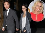 Dinner date: Peter Facinelli enjoyed a cosy meal with 28-year-old actress Jaimie Alexander and won't Jennie Garth be seeing red