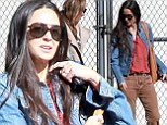 Happy anniversary? Demi Moore looks happier and healthier as she steps out exactly one year after announcing her split from Ashton Kutcher