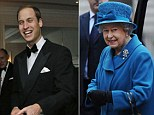 Prince William and the Queen