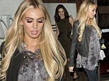 In full bloom! Petra Ecclestone proudly shows off her baby bump as she steps out for dinner with Mel Gibson in Hollywood