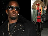Dress code: Hot Right Now! Rita Ora vamps up her look at P Diddy party in thigh-high lace up boots and fur hood
