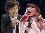 Heating up! Taylor Swift and Harry Styles spotted flirting backstage at X Factor as they fuel romance rumours