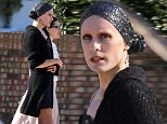 Dude looks like a lady! Jared Leto strolls with Jennifer Garner after dressing up for role as HIV infected transvestite