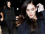Megan Fox at the Writers Guild for a Q and A