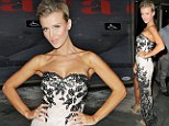 Real Housewives star Joanna Krupa flashes her pins in a mullet dress as she parties with Jamie Foxx, Stacy Keibler and Mischa Barton at the Rolling Stone AMAs after party