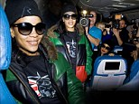 'I had to sleep!' Rihanna apologises for not 'partying on the plane' as 777 tour comes to an end