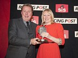 Ukrainian job? Redknapp presents the Betting Shop Manager of the Year 2012 award on Tuesday night