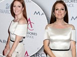 'I really like yoga; I enjoy doing it, so it doesn't feel like the agony of the gym,' said Julianne Moore, 51, and mother of two