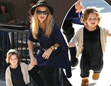 The 41-year-old - who has worked with the biggest celebrities, fashion houses and magazine editors - now puts as much effort into dressing her tot as she does at work.