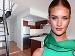 Moving on: Since buying the starter home Rosie Huntington-Whiteley has seen her career take off beyond her wildest dreams