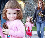 'I can't even spell the Gaelic version!' Alyson Hannigan reveals origins of Keeva's name as Satyana decorates for Thanksgiving