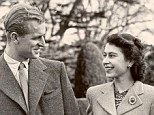 Queen Elizabeth II and the Duke of Edinburgh at Broadlands celebrate anniversary