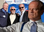 'Out of the closet Republican' Kelsey Grammer blames politics for the cancellation of Boss... but Starz points to poor ratings