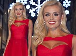 St James's Christmas lights switched on by the international opera star Katherine Jenkins