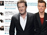 Young vs old: Piers Morgan and Louis Tomlinson had a spat on Twitter about David Beckham