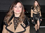 All grown up: Miranda Cosgrove shows her sophisticated side as she bids farewell to teen sitcom iCarly