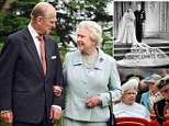 The Queen and Prince Philip today celebrate 65 years of marriage