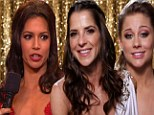 Shawn Johnson, Melissa Rycroft and Kelly Monaco face all-female battle for Dancing With The Stars trophy after Apolo and Emmitt are sent packing